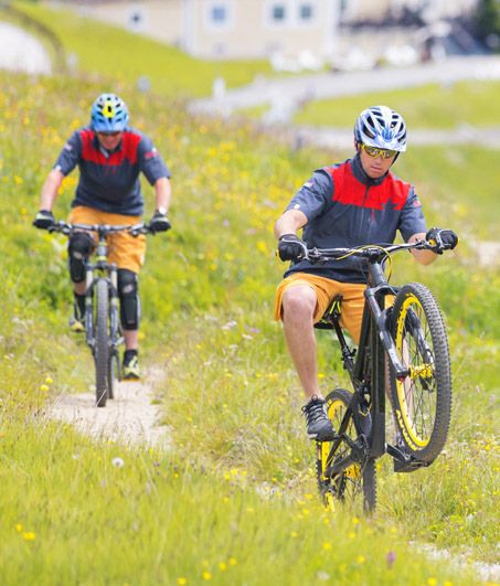 Bike Station Corvara and MTB Guide Service