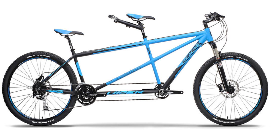 Bicicletta Front Tandem